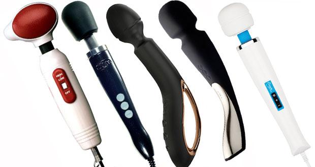 Diverse wand vibratorer